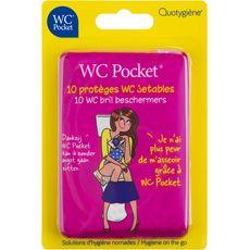 Wc Pocket lunettes de wc jetables x10