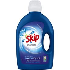 Skip lessive liquide ultimate active clean 34 lavages 1,7l