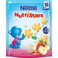 Nestlé nutristar fraise 50g dès 10mois