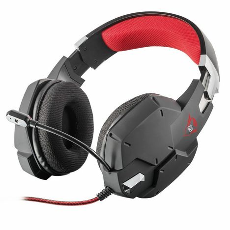 TRUST Casque gaming filaire GXT 322 Dynamic Black