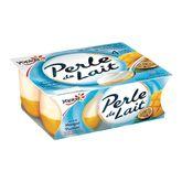 Yoplait Perle de lait sur lit mangue passion 4x125g