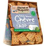 Michel et Augustin Petits beurre chèvre Sainte-maure de Touraine sarrie... la boite de 100 g