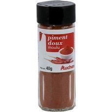Auchan piment doux moulu 40g