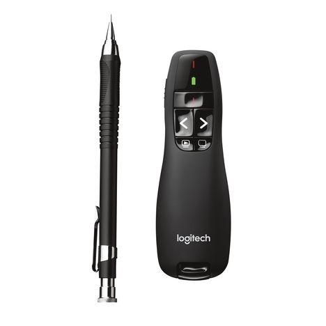 LOGITECH Pointeur et télécommande Wireless Presenter R400