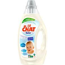 Le Chat lessive bébé 30 lavages 1,6l