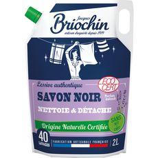 Briochin recharge lessive savon noir doypack 40 lavages 2l
