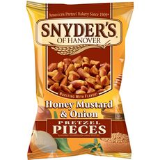 SNYDERS Pretzel miel moutarde oignon 125g