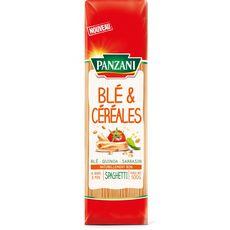 PANZANI Panzani Spaghetti blé et céréales 500g 500g