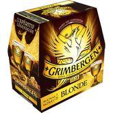 Grimbergen bière blonde 6,7° -6x25cl