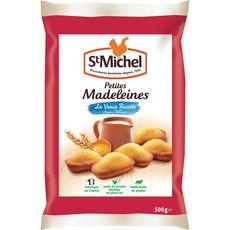 St Michel madeleine coquille oeufs de poules plein air 500g