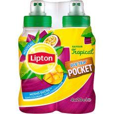 Lipton Ice Tea pocket tropical 4x20cl