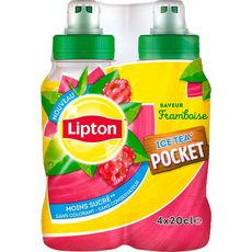 Lipton Ice Tea pocket framboise 4x20cl