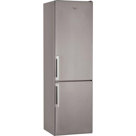 WHIRLPOOL Réfrigérateur combiné BSF9152OX - 369 L, Froid brassé