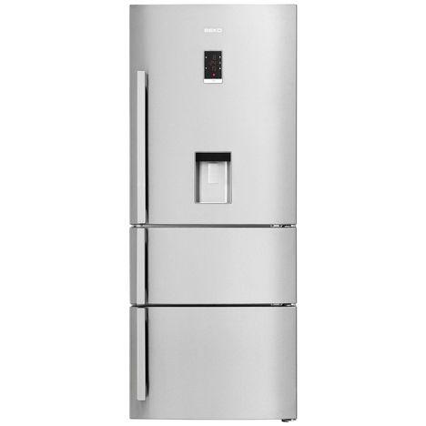 BEKO Réfrigérateur multiportes CN151920DX, 462 L, Froid Ventilé, Brassé