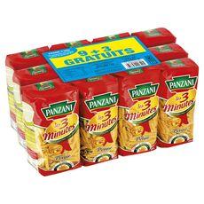PANZANI Panzani pâtes cuisson rapide penne rigate 9x500g +3