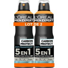 L'Oréal Men Expert déodorant 5en1 intense ice fresh 2x200ml