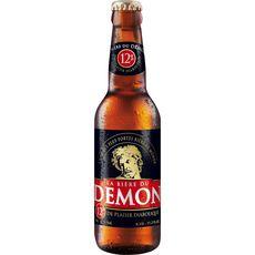 LA BIERE DU DEMON Bière blonde 12% bouteille 33cl
