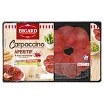 Carpaccino de boeuf et ses deux dosettes de marinade 150g Bigard