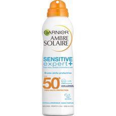 Garnier Ambre Solaire Brume sèche sensitive haute protection FPS50+ 200ml