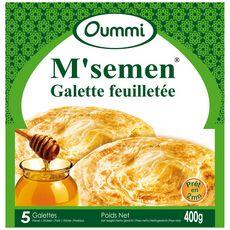 OUMMI M'semen galette feuilleté 400g