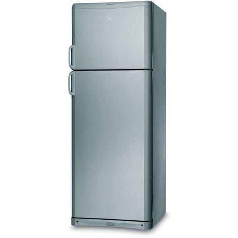 INDESIT Réfrigérateur 2 portes TAAN5VNX, 414 L, Froid Brassé pour le réfrigérateur, Froid statique pour le congélateur