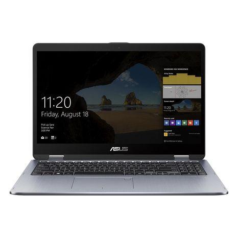 ASUS Ordinateur portable TP510UF-E8002T - 128 Go - Argent