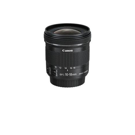 CANON EF-S 10-18 mm - Optique photo