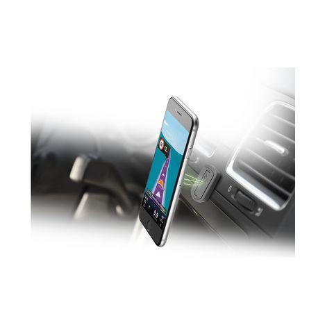 CELLULARLINE Support voiture pour smartphone - Magnétique - Noir