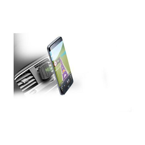 CELLULARLINE Support aération aimanté pour smartphone - Noir
