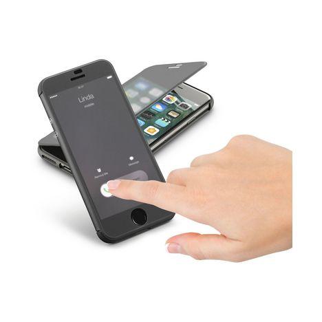 CELLULARLINE Etui folio pour iPhone 7 - Noir