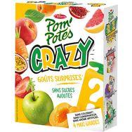 Materne pom'potes crazy jaune multi variétés 4x120g
