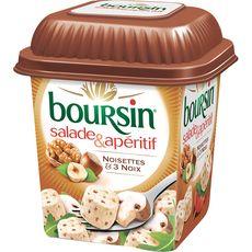 Boursin fromage salade et apéritif noisette et noix 120g