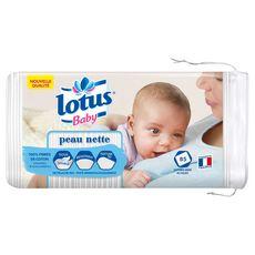 LOTUS BABY LOTUS COT BB 85 CARRES PEAU NETTE 85 cotons