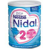 Nestlé Nidal 2ème âge dès 6 mois -800g