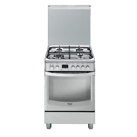 Cuisini re gaz cx65sfaxfhas 60 cm 4 foyers four convection naturelle hotpoint pas cher - Four convection naturelle ...