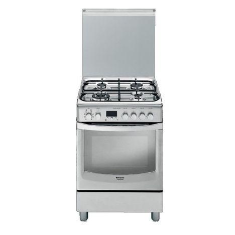 cuisiniere gaz 60 cm inox