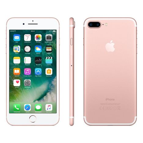 APPLE Iphone 7+ - 32 Go - 5,5 pouces - Rose doré