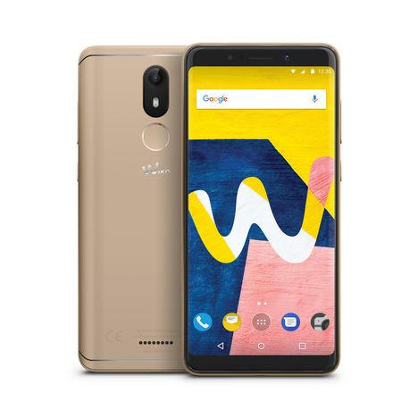 WIKO Smartphone View Lite - 16 Go - 5,45 pouces - Or