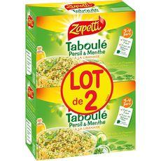 Zapetti Taboulé persil et menthe à la libanaise 2x525g