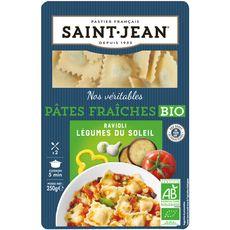 St Jean ravioli bio aux légumes 250g