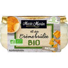 MARIE MORIN Dessert crème brûlée bio 130g