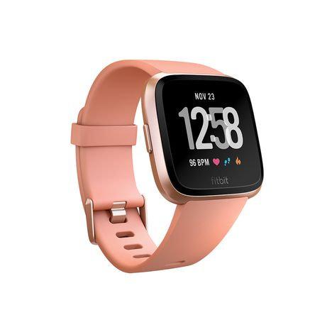 FIT BIT Montre connectée - Versa - Bluetooth - Rose doré
