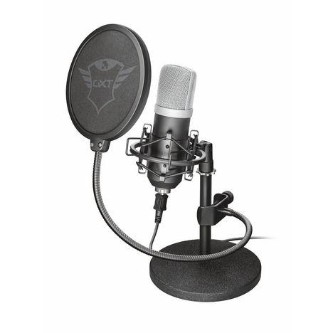 TRUST Microphone de studio GXT 252 Emita Streaming