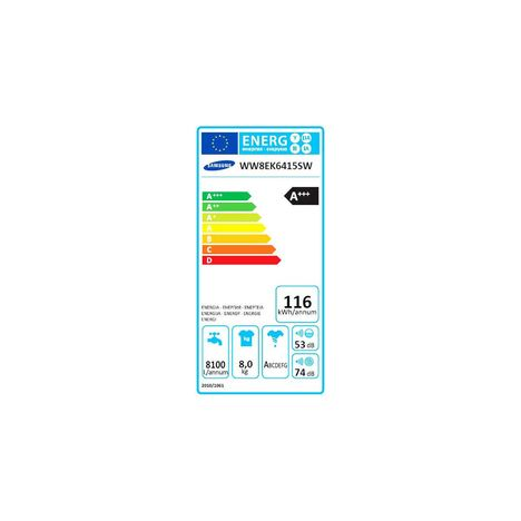 samsung lave linge hublot ww8ek6415sw 8 kg - Samsung Ww8ek6415sw Add Wash