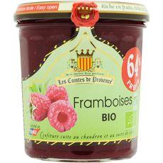 Les Comtes de Provence confiture de framboise bio 350g