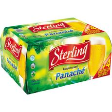 STERLING Sterling panach pack 20x25cl +4offertes
