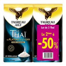 TAUREAU AILE Riz thaï du plateau de l'I-san pure origine 2x500g