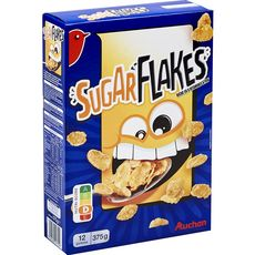 Auchan sugar flakes 375g