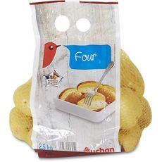 Auchan Pommes de terre four filière responsable 2,5kg