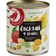 Uncle Ben's Auchan Cocktail de 4 fruits au sirop léger 500g
